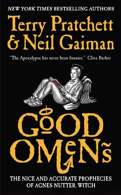 Image result for neil gaiman good omens