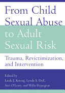 From Child Sexual Abuse to Adult Sexual Risk