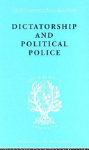 Dictatorship and Political Police