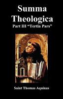 Summa Theologica Ter...