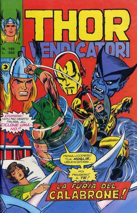 Thor e i Vendicatori (Il Mitico Thor) n. 165