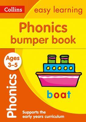 Phonics Bumper Book Ages 3-5 (Collins Easy Learning Preschool)
