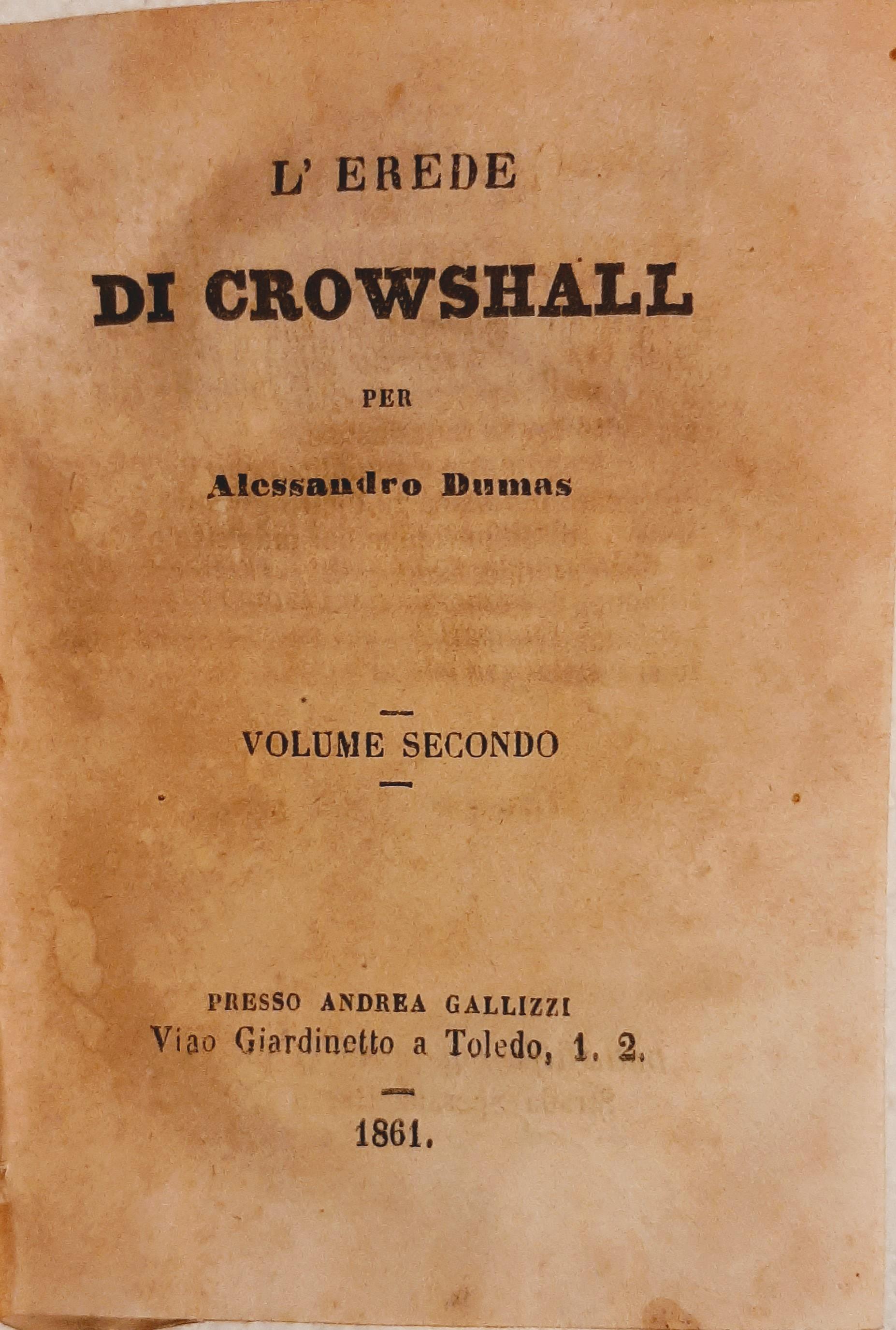 L'erede di Crowshall (vol. II)