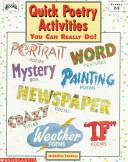 Quick Poetry Activities