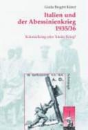 Italien und der Abessinienkrieg, 1935/36