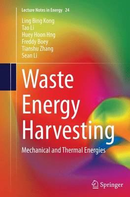 Waste Energy Harvesting