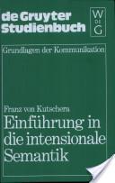 Einführung in die intensionale Semantik