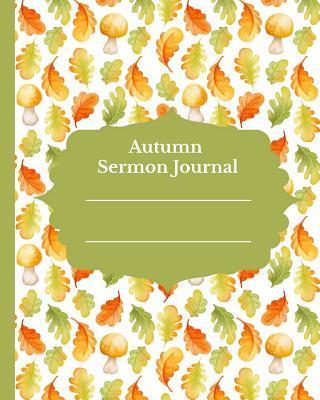 Autumn Sermon Journal