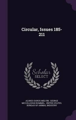 Circular, Issues 185-211