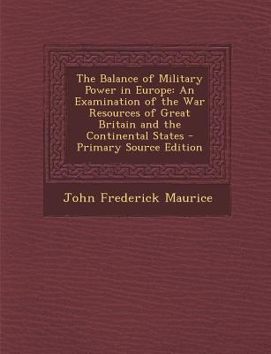 Balance of Military Power in Europe