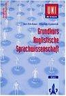 Uni-Wissen, Grundkurs Anglistische Sprachwissenschaft