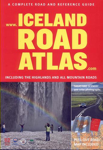 Iceland Road Atlas