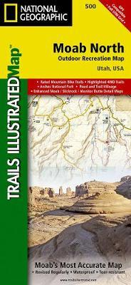 National Geographic Trails Illustrated Map North Moab