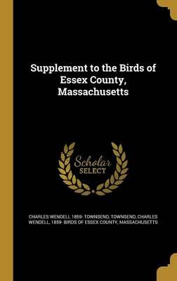 SUPPLEMENT TO THE BIRDS OF ESS