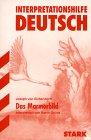 Das Mamorbild. Interpretationshilfe Deutsch.