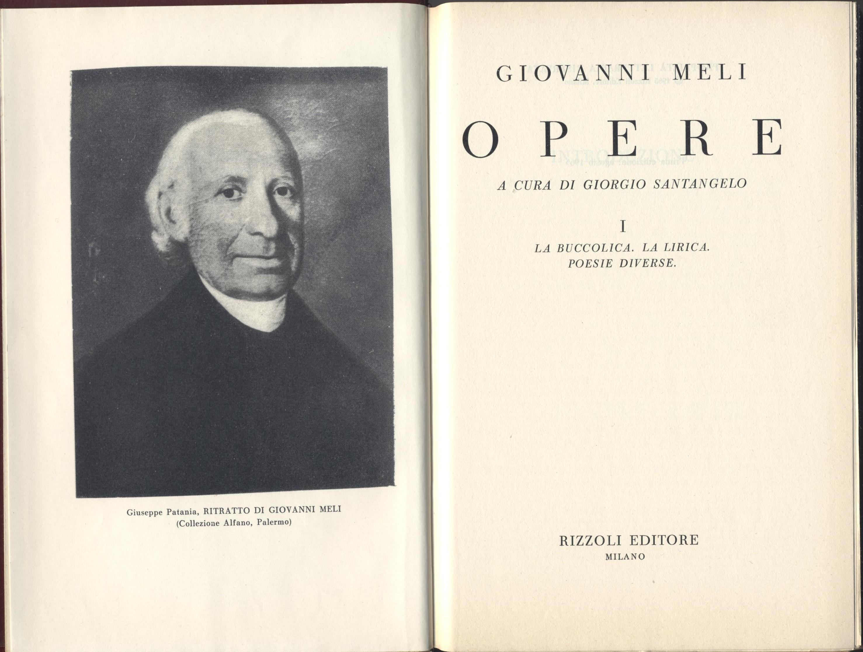 Opere (vol. I)