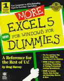 More Excel 5 for Windows for Dummies
