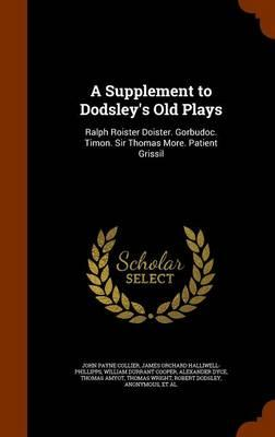 A Supplement to Dods...