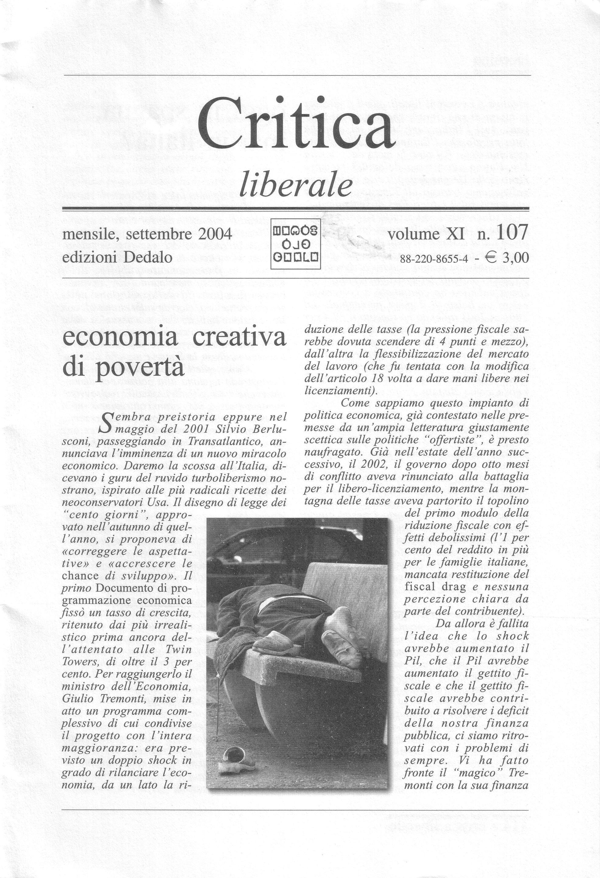 Critica Liberale, n....