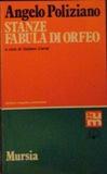 Stanze - Fabula di Orfeo