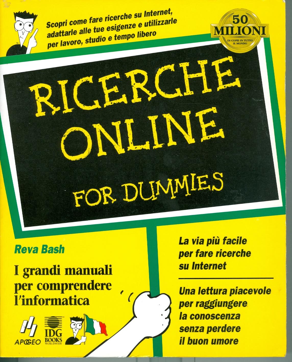 Ricerche online for dummies