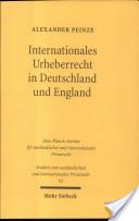 Internationales Urheberrecht in Deutschland und England