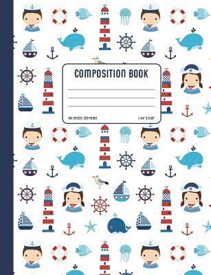 Nautical Composition Book