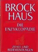 Brockhaus - die Enzyklopädie