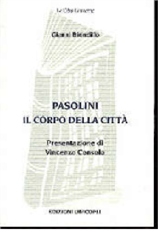 Pasolini, il corpo della città