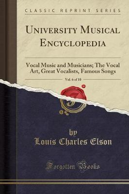 University Musical Encyclopedia, Vol. 6 of 10
