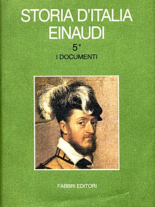 Storia d'italia Einaudi, Vol. 5*