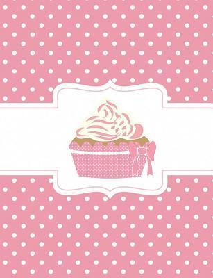 Pink Polka Dot Cupcake Composition Notebook