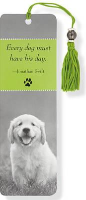 Puppy Beaded Bookmark