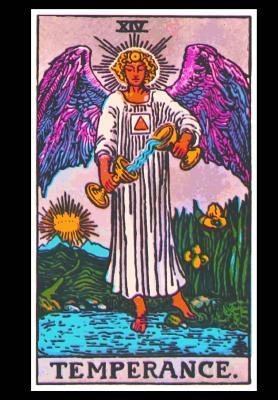 Temperance Tarot Card Visionary Journal