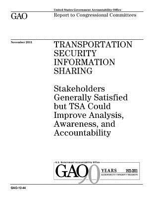 Transportation Security Information Sharing