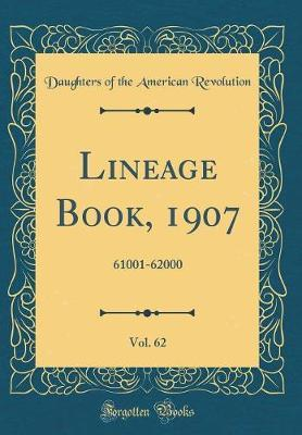 Lineage Book, 1907, ...