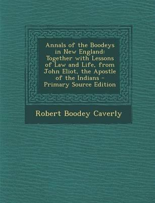 Annals of the Boodey...