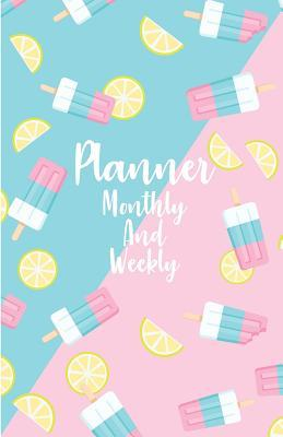 Planner monthly and weekly