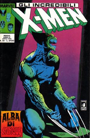 Gli Incredibili X-Men n. 033