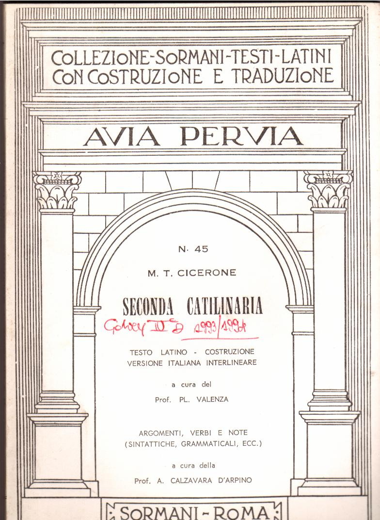 Seconda catilinaria