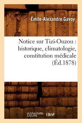 Notice Sur Tizi-Ouzou