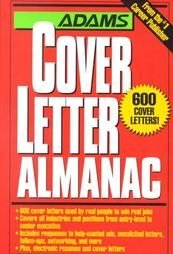 Adams Cover Letter Almanac