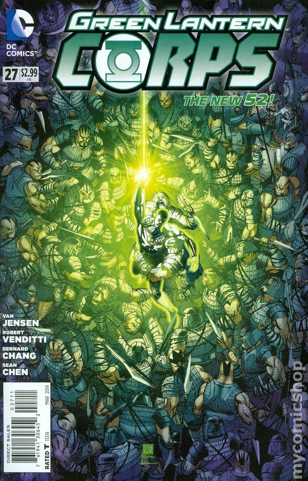 Green Lantern Corps Vol.3 #27