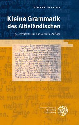 Kleine Grammatik Des Altislandischen