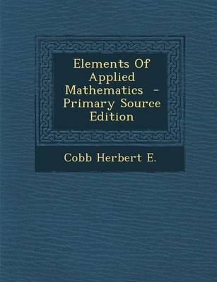 Elements of Applied Mathematics