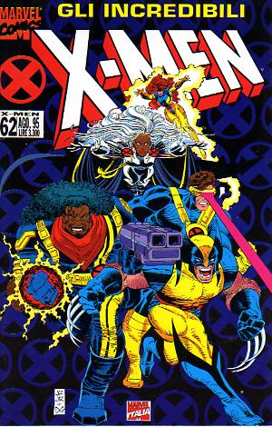 Gli Incredibili X-Men n. 062