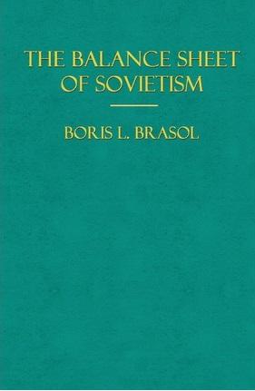 The Balance Sheet of Sovietism
