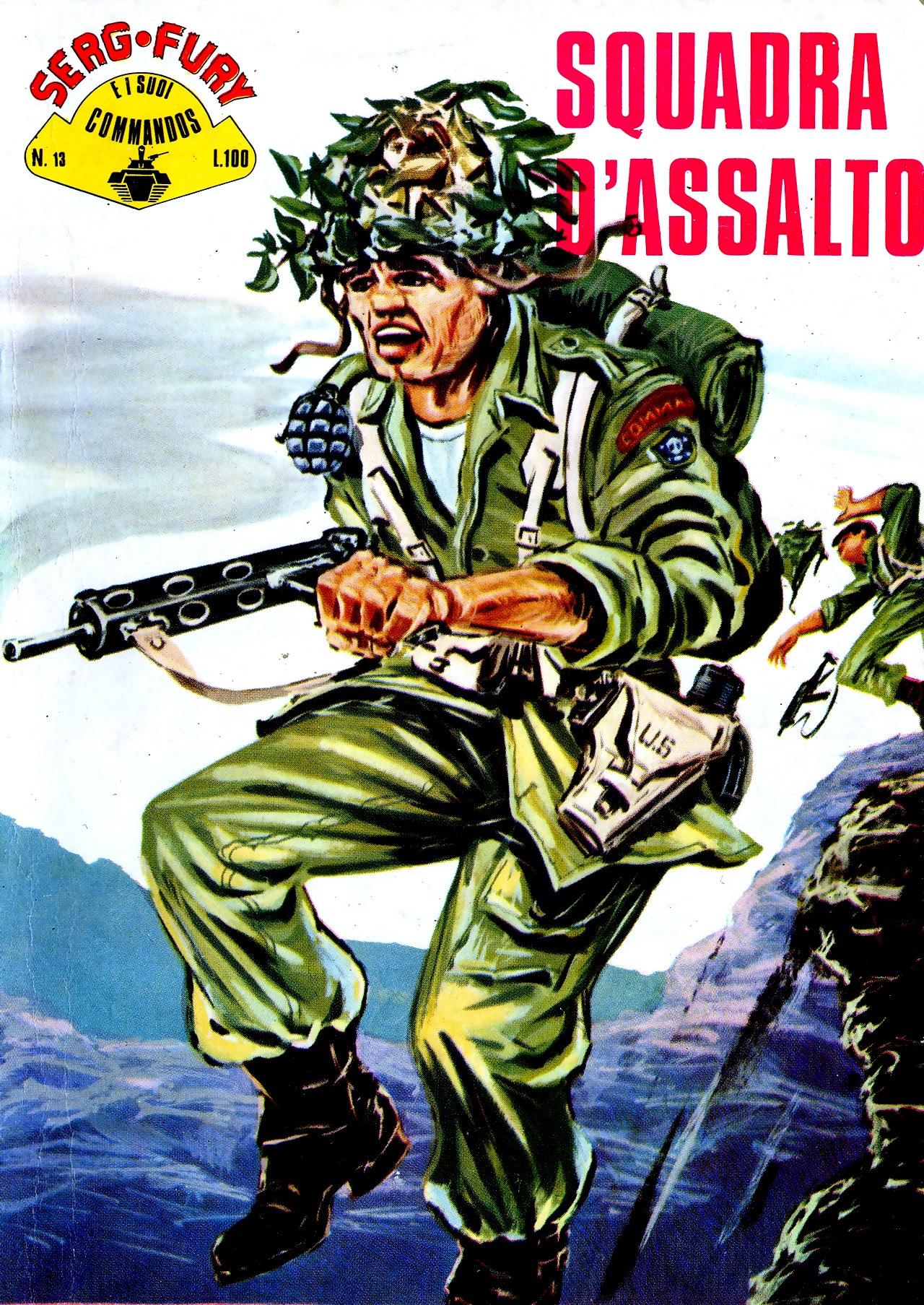 Il serg. Fury e i suoi commandos n. 13