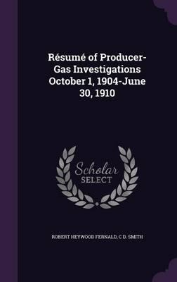Resume of Producer-G...
