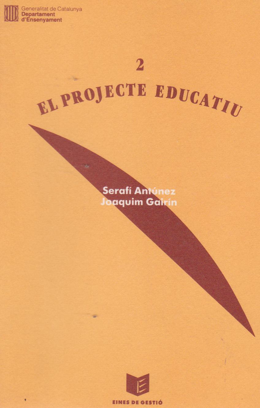 Del Projecte Educatiu a la programació d'aula